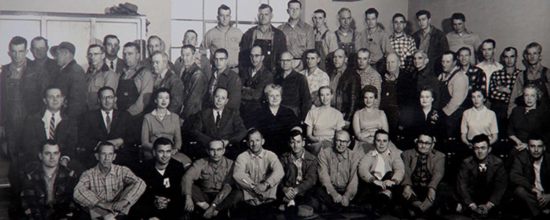 Ethelmae Humphreys - 1955 Corporate office and High Street staff photo