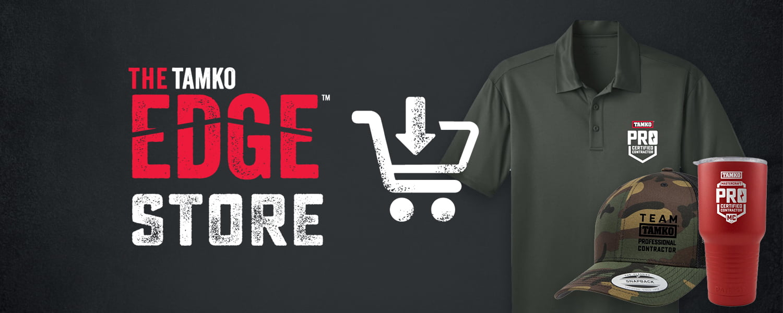 TAMKO Edge Store - Banner