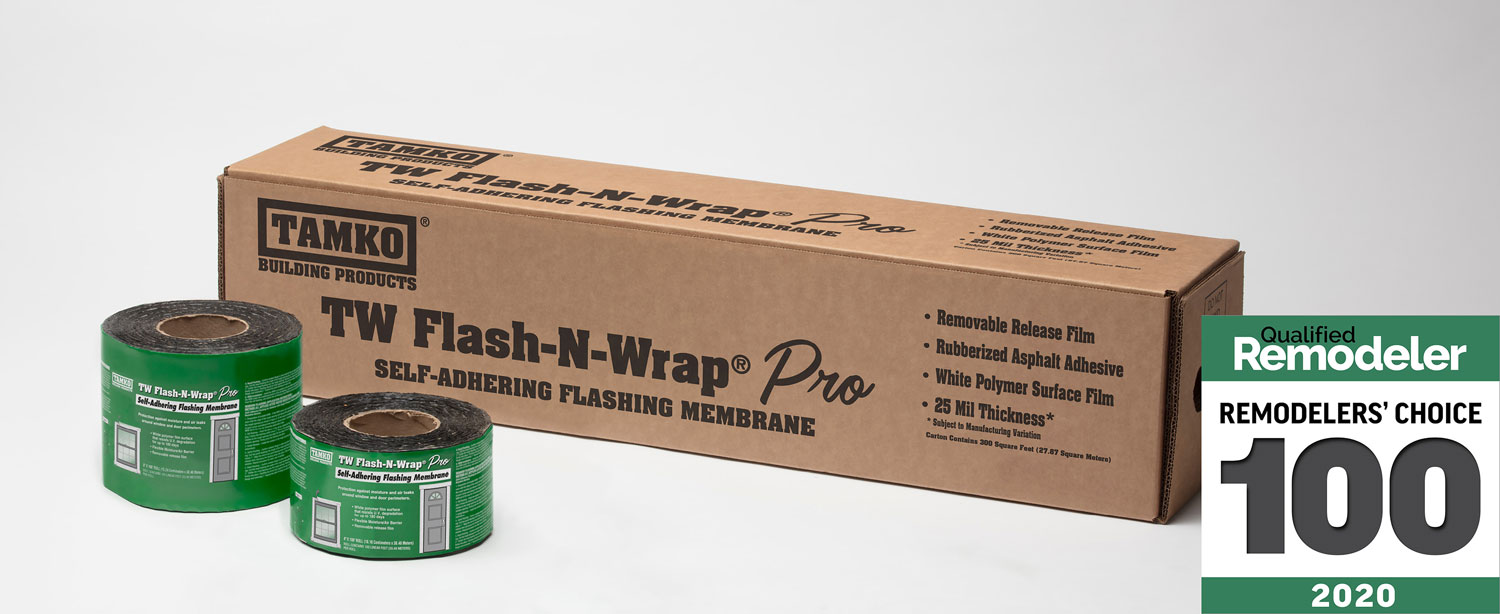 Tamko S Tw Flash N Wrap Pro Named Top Product Pick By Qualified Remodeler