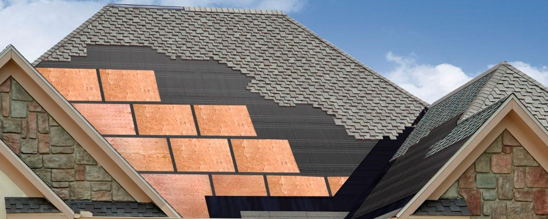 TW Seam Tape on Roof