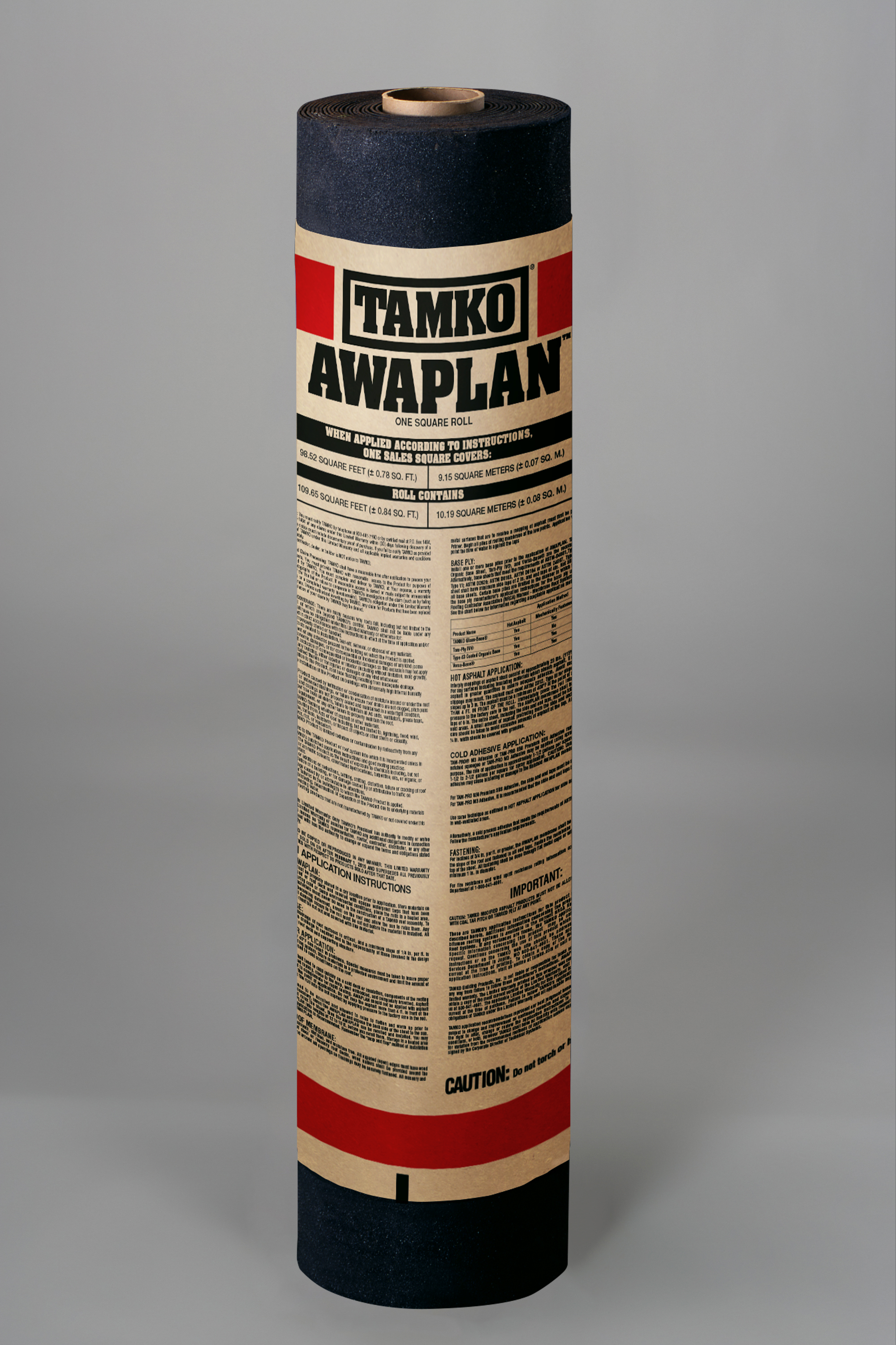 TAMKO - AWAPLAN SBS-Modified Roll Roofing
