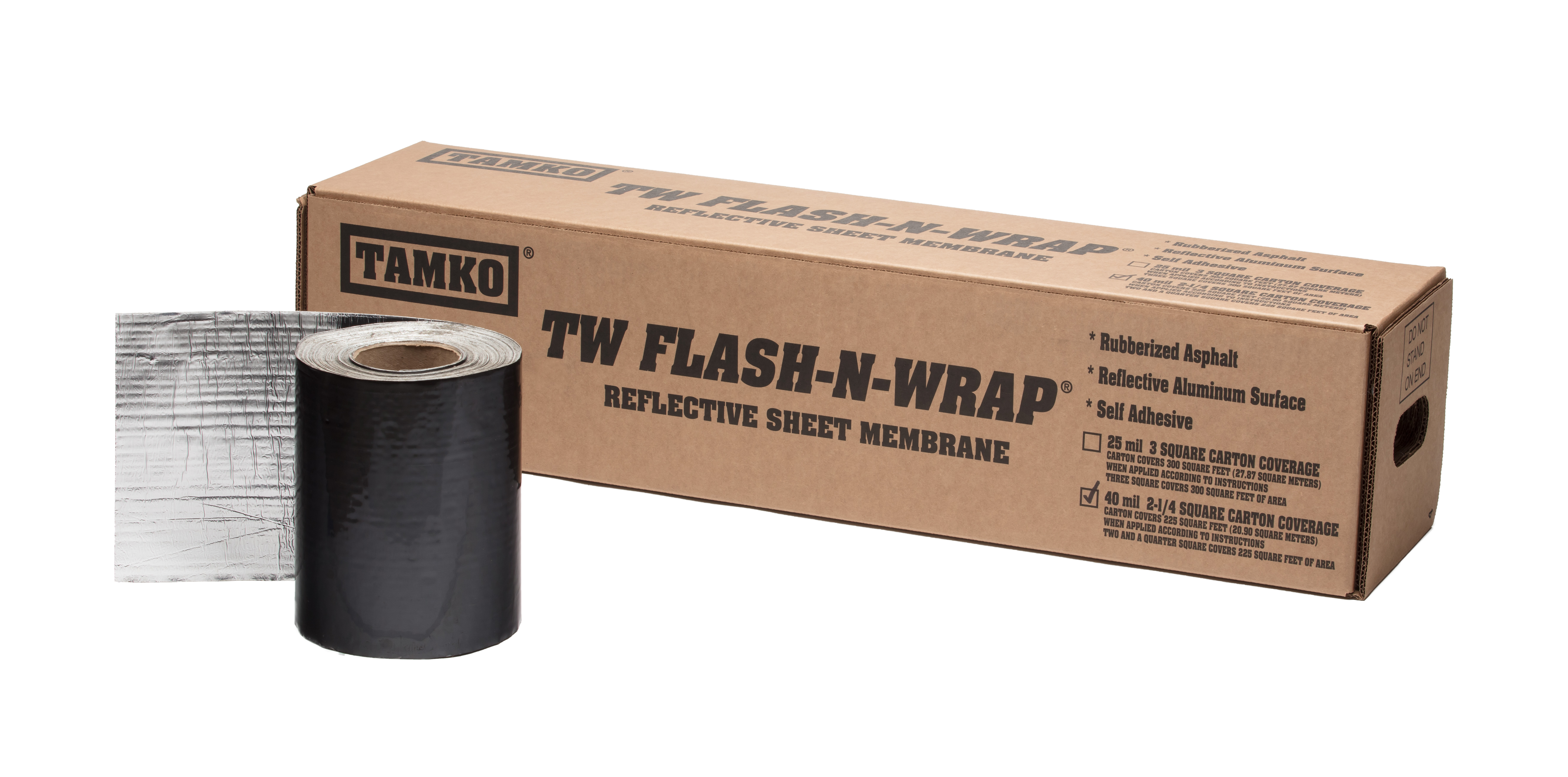 TAMKO Waterproofing - TW Flash-n-Wrap 40