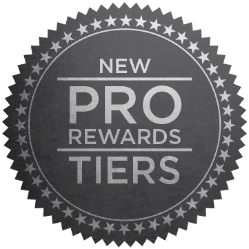New Pro Rewards Tiers
