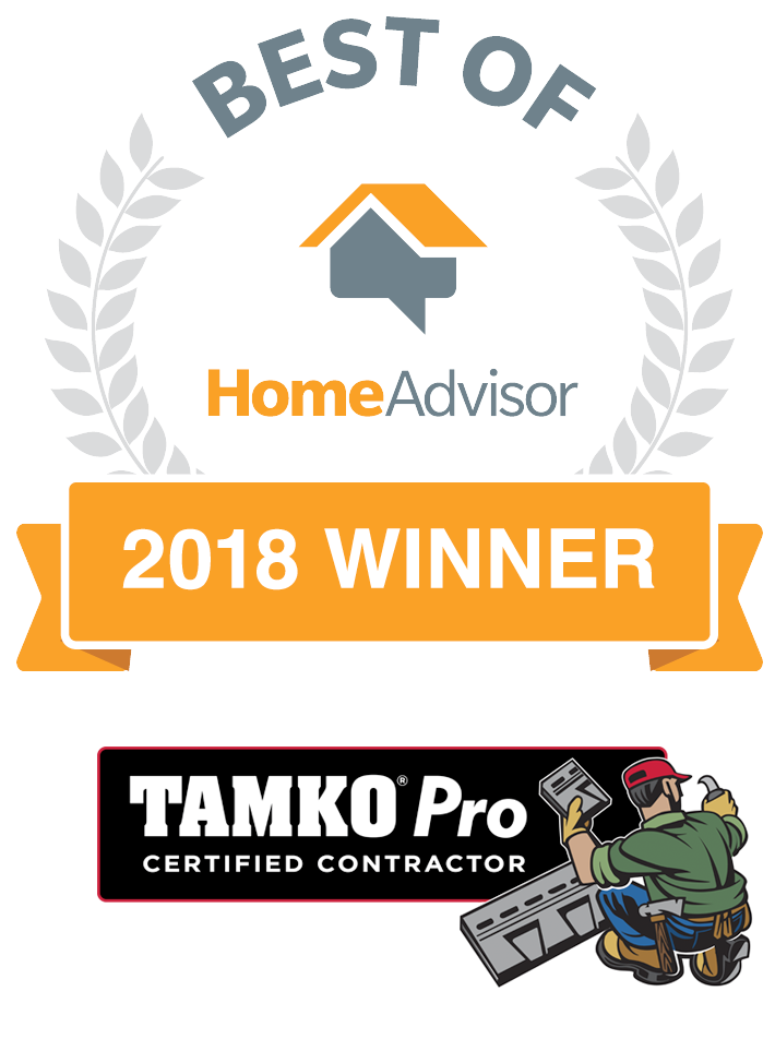 Best of HomeAdvisor Award 2018 - TAMKO Pro
