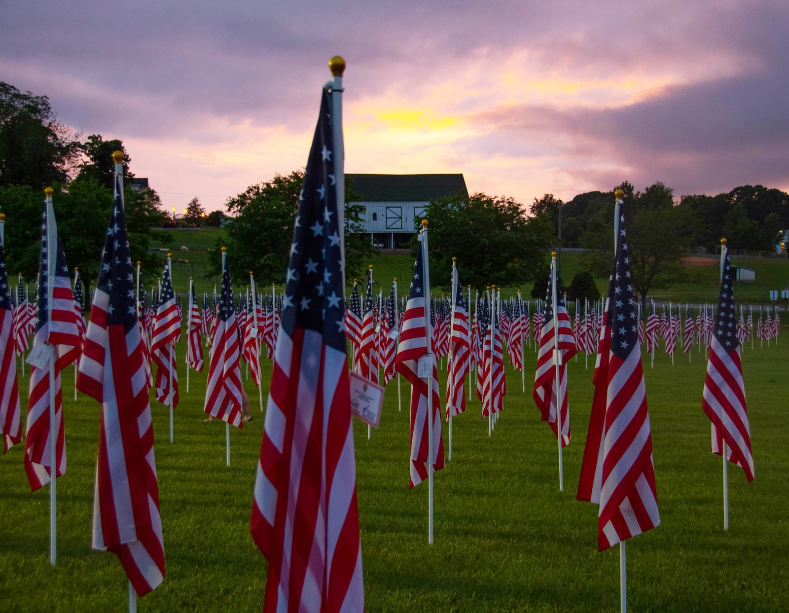 Field of Honor - TAMKO Sponsored