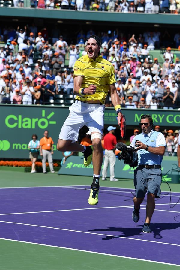 John Isner Wins Miami Open
