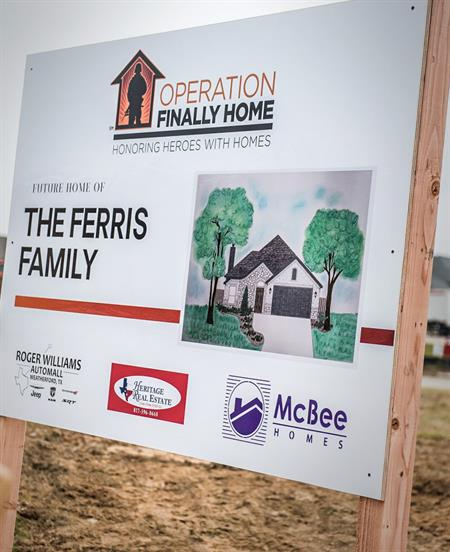 Operation Finally Home - Future Home of the Ferris Family