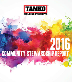 TAMKO Community Stewardship Report 2016 (thumb)