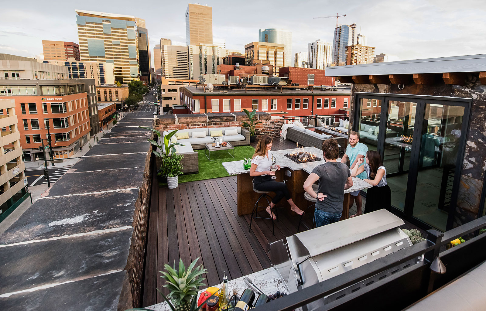 TAMKO Envision Decking - Rooftop Deck Party