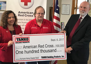 TAMKO Red Cross Donation 09-06-17 (thumb)
