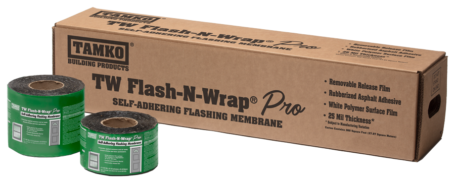 TAMKO Waterproofing - TW Flash-N-Wrap Pro (carton + rolls)